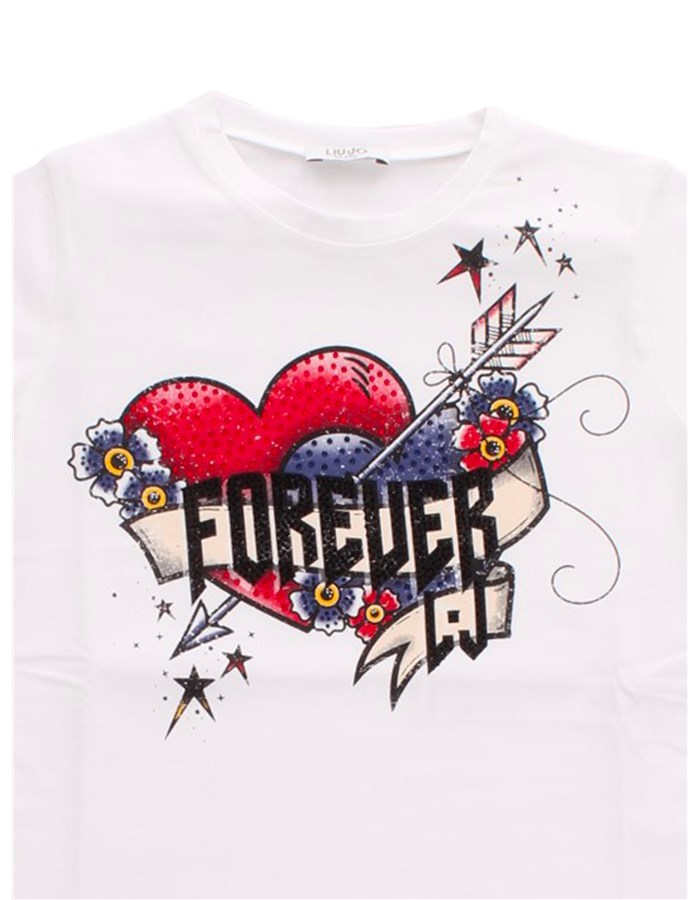 LIU JO Short sleeve White forever
