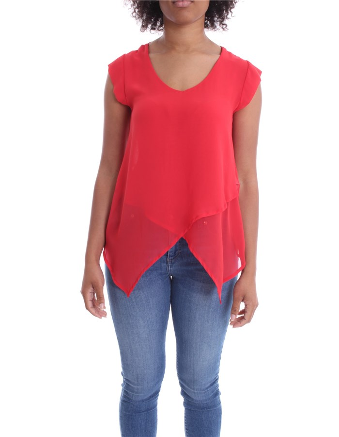 J'AIME' Blouse Red