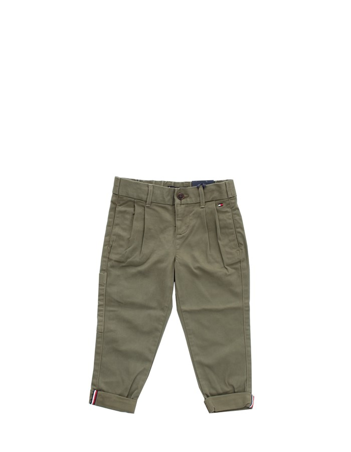 TOMMY HILFIGER Trouser Green