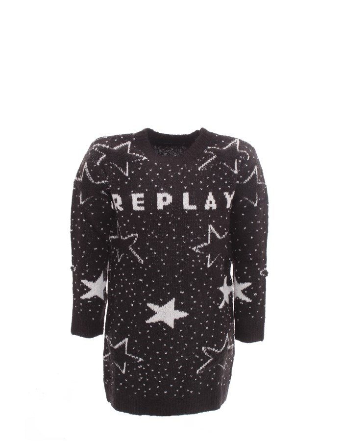 REPLAY Dress Black