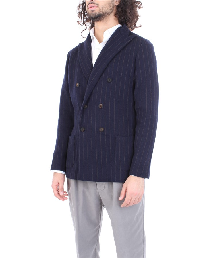 LARDINI Jacket Blue