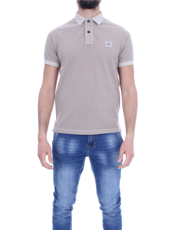 STONE ISLAND Polo shirt Short sleeves 741522S67