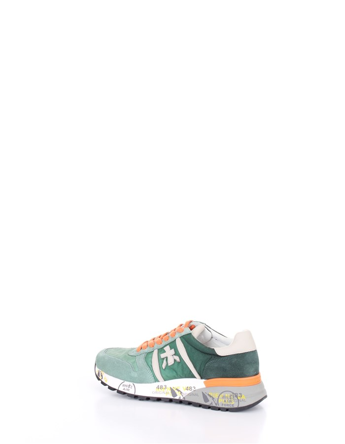 PREMIATA  low Orange green