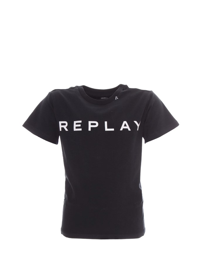 REPLAY KIDS T-shirt Short sleeve SG7479 010 Black