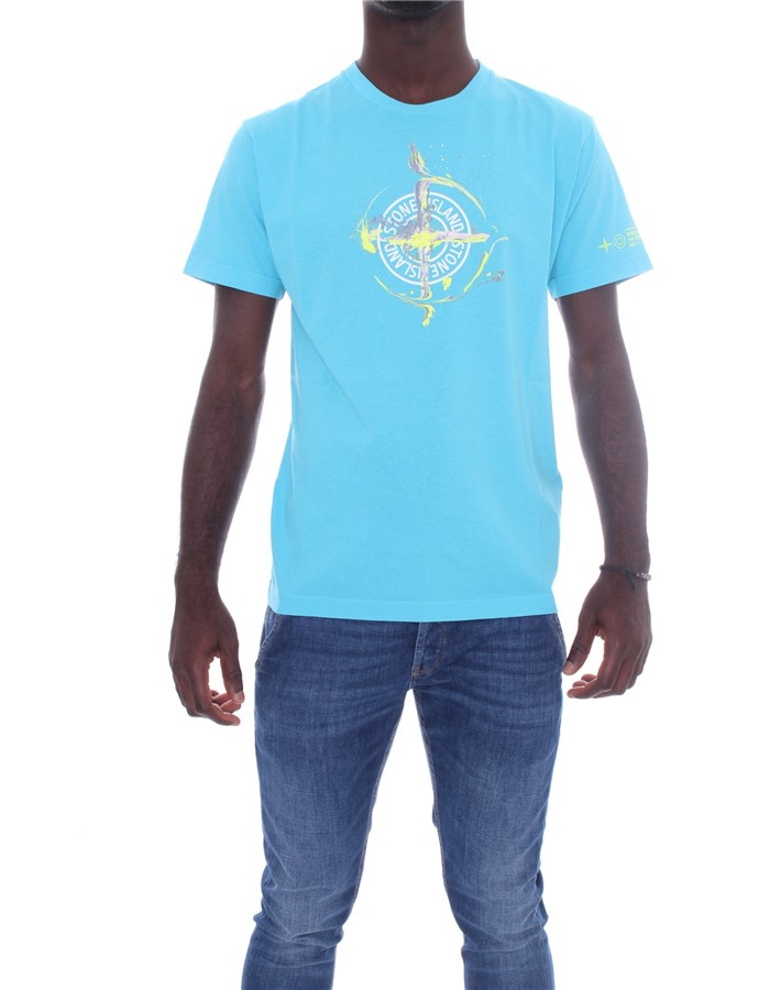 STONE ISLAND T-shirt Short sleeve Men 74152NS83 0