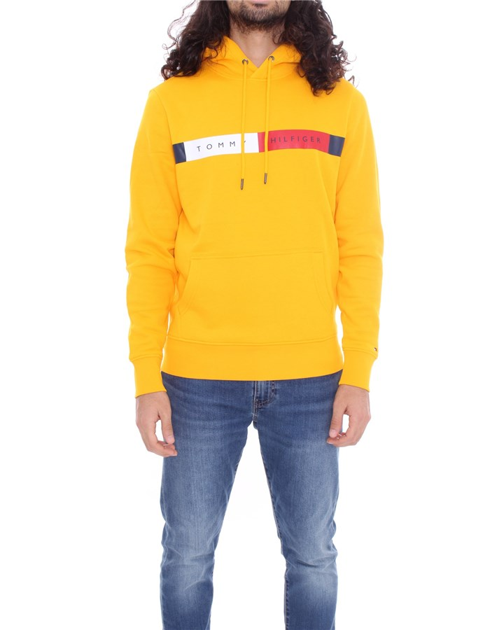 TOMMY HILFIGER Hoodies Yellow