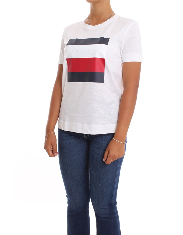 TOMMY HILFIGER Short sleeve White
