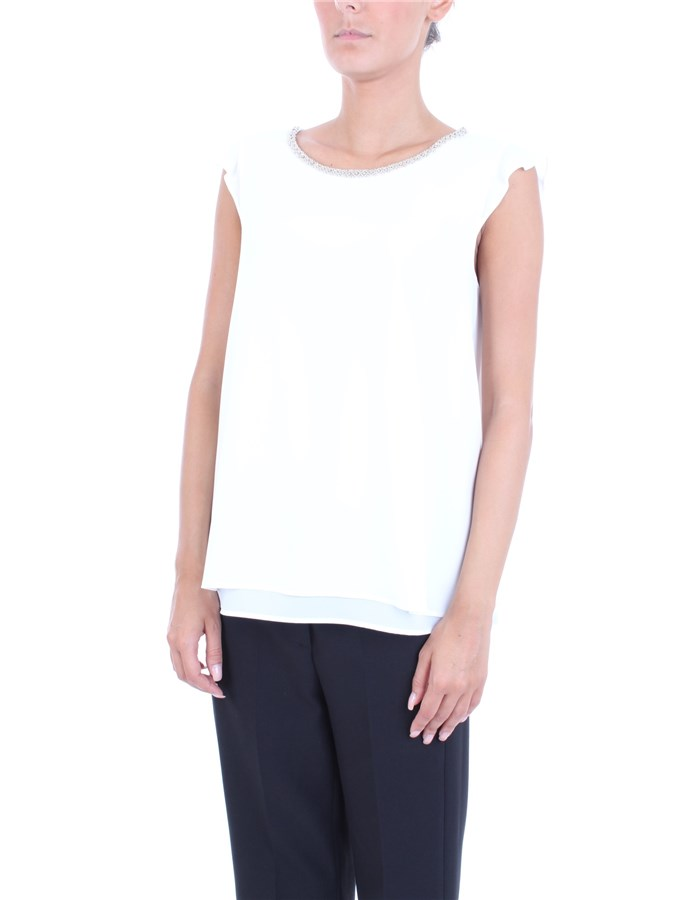 PENNY BLACK Top Ivory