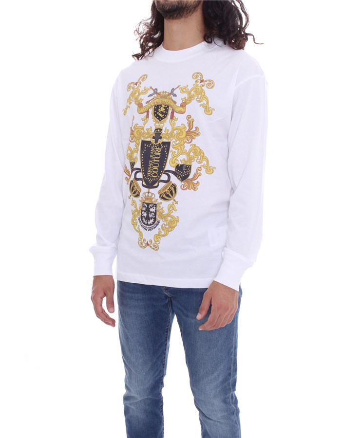VERSACE Long sleeve White
