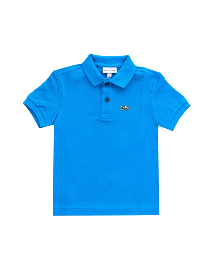 LACOSTE Short sleeves Royal