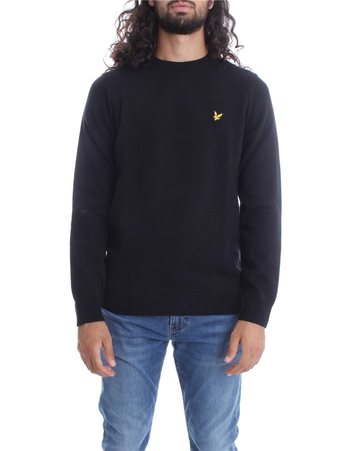 LYLE & SCOTT Vintage Knitwear Crewneck  KN921VF Black
