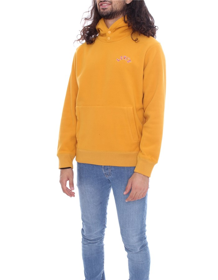 LEVI'S Hoodies Yellow