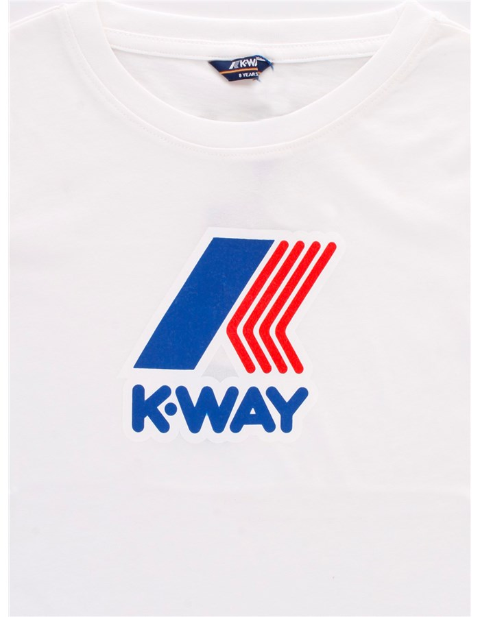 KWAY Short sleeve White