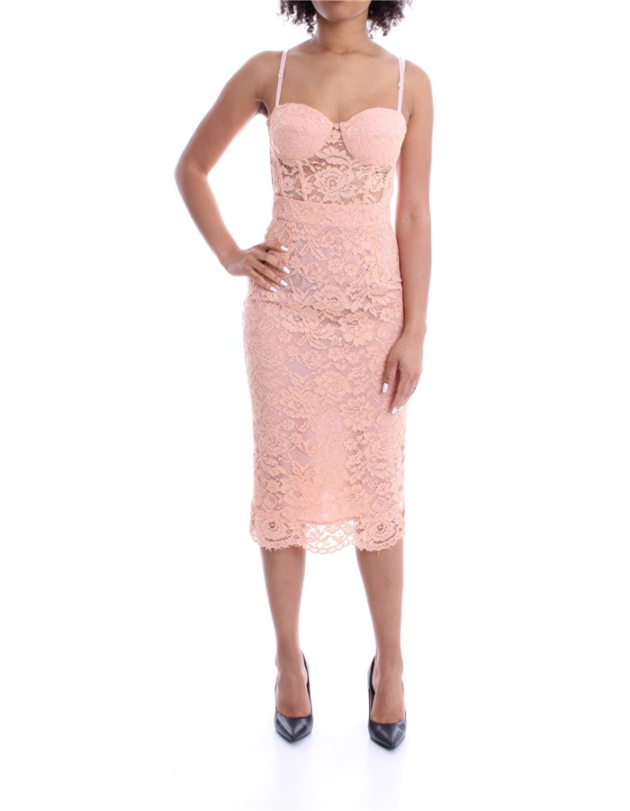 ELISABETTA FRANCHI DRESS Antique pink