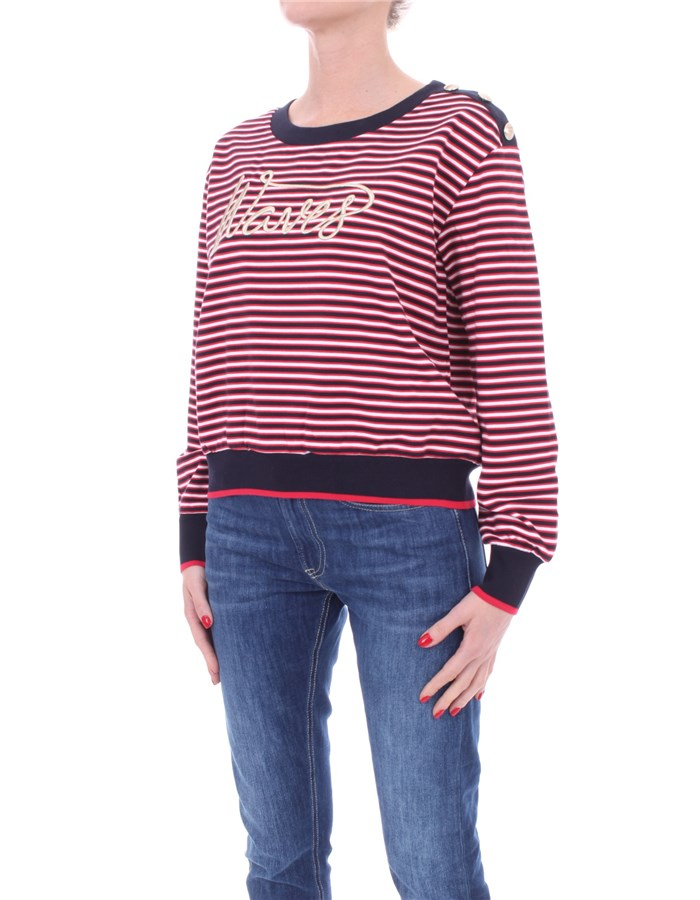LIU JO Crewneck  Red blue