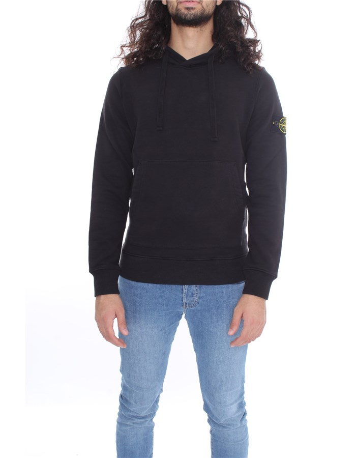 STONE ISLAND Sweat Black