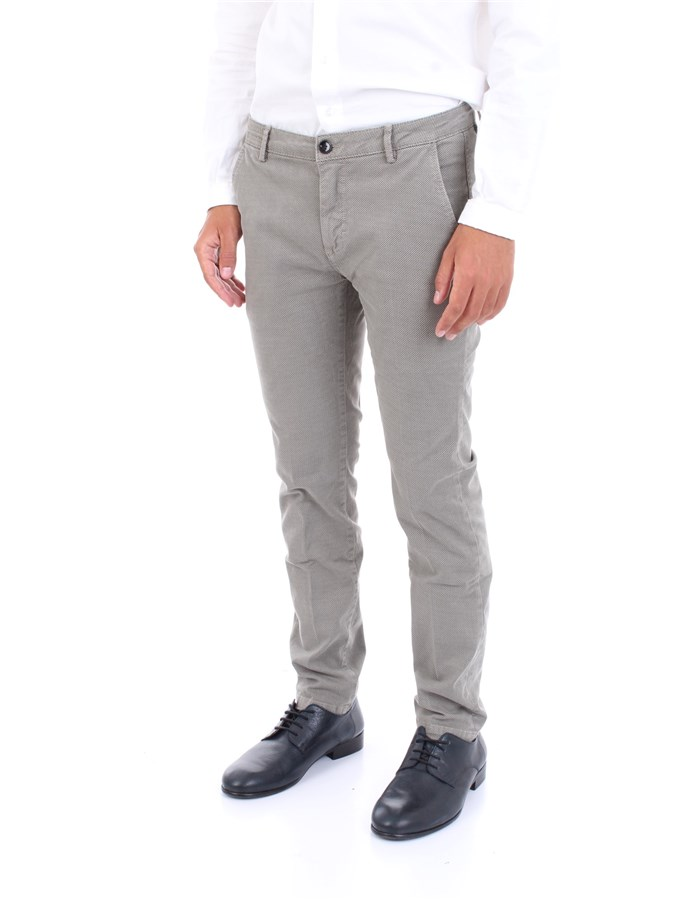 YAN SIMMONS Trousers Grey