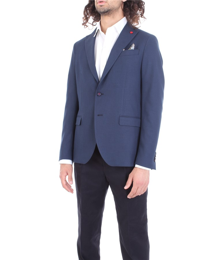 MANUEL RITZ Jacket Blue