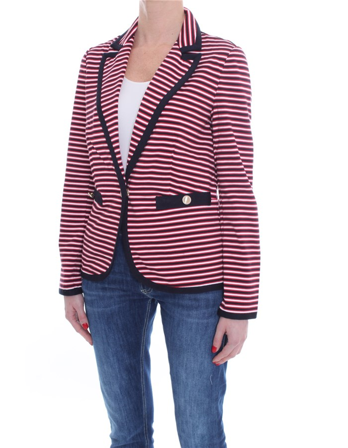 LIU JO Blazer Red blue