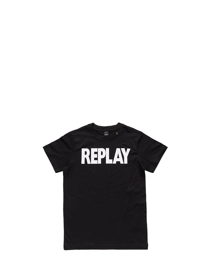 REPLAY KIDS Short sleeve Black