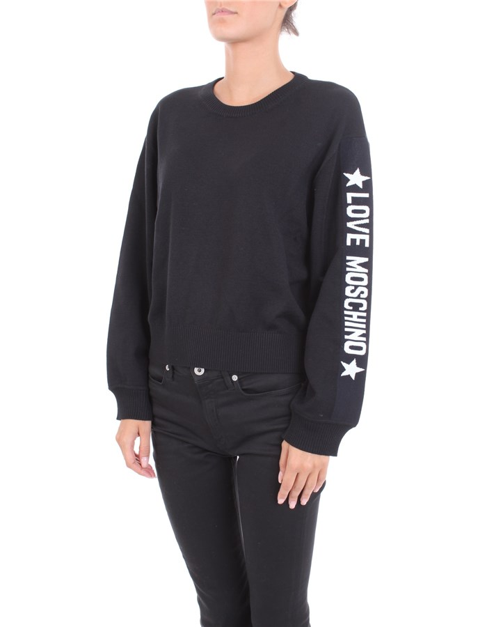 LOVE MOSCHINO Sweater Black