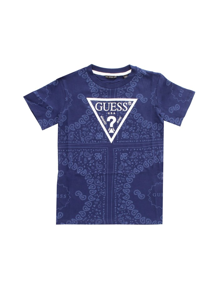 GUESS KIDS Short sleeve Blue