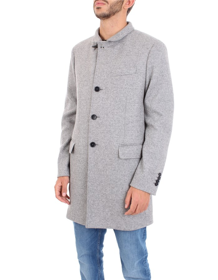 FAY Coat Grey