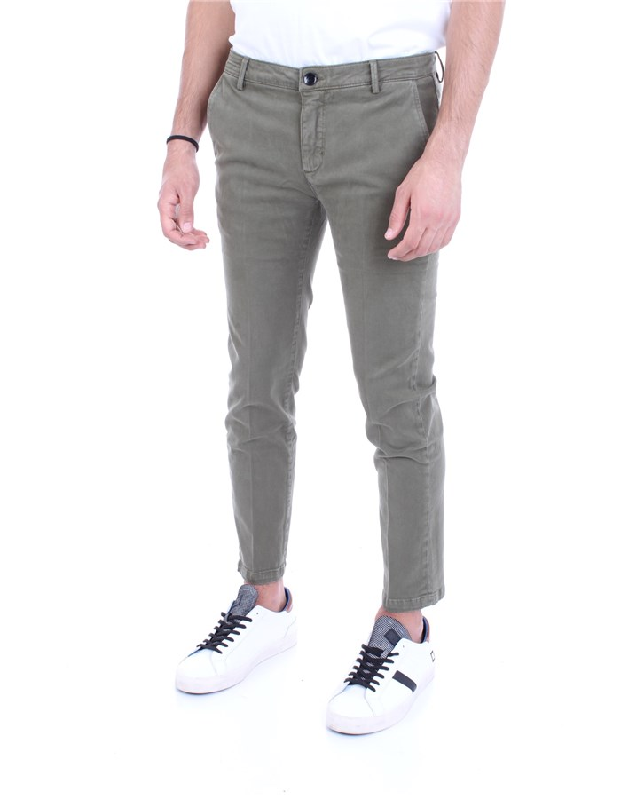YAN SIMMONS Trousers Sage