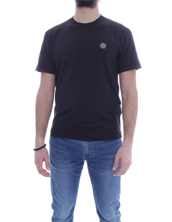 STONE ISLAND T-shirt Short sleeve Men 741524113 0