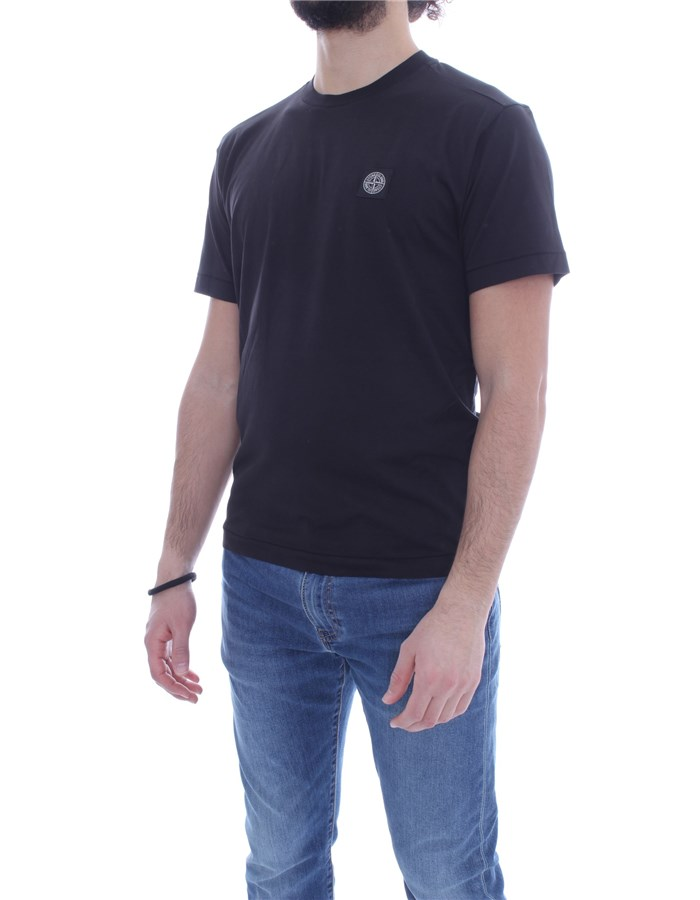 STONE ISLAND T-shirt Short sleeve Men 741524113 1