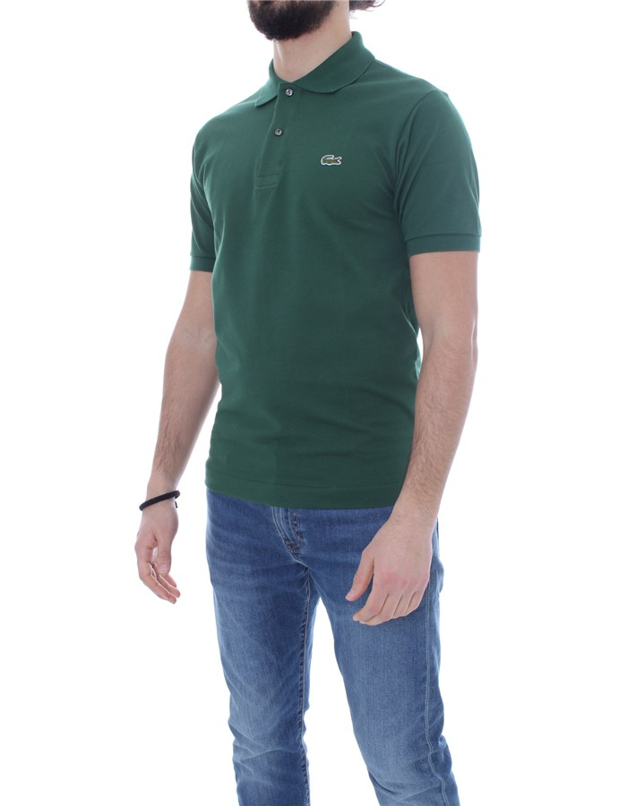 LACOSTE Short sleeves Iconic verte