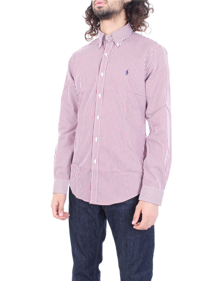 RALPH LAUREN Shirt Bordeau