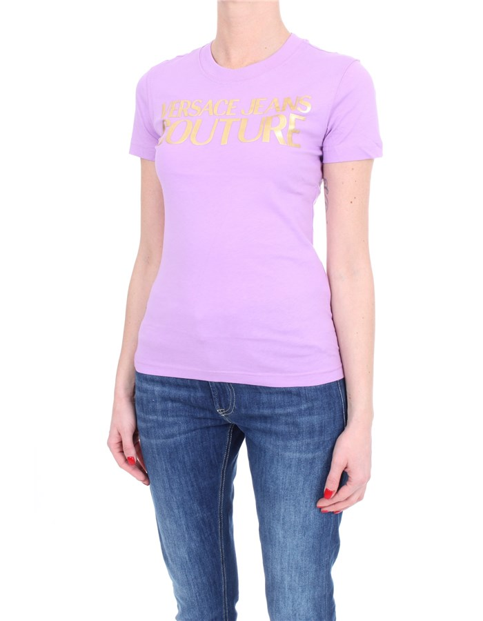 VERSACE Short sleeve Lilac