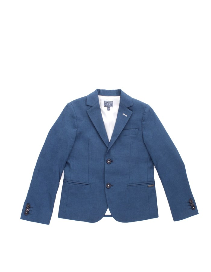 GUESS Short jackets Blue