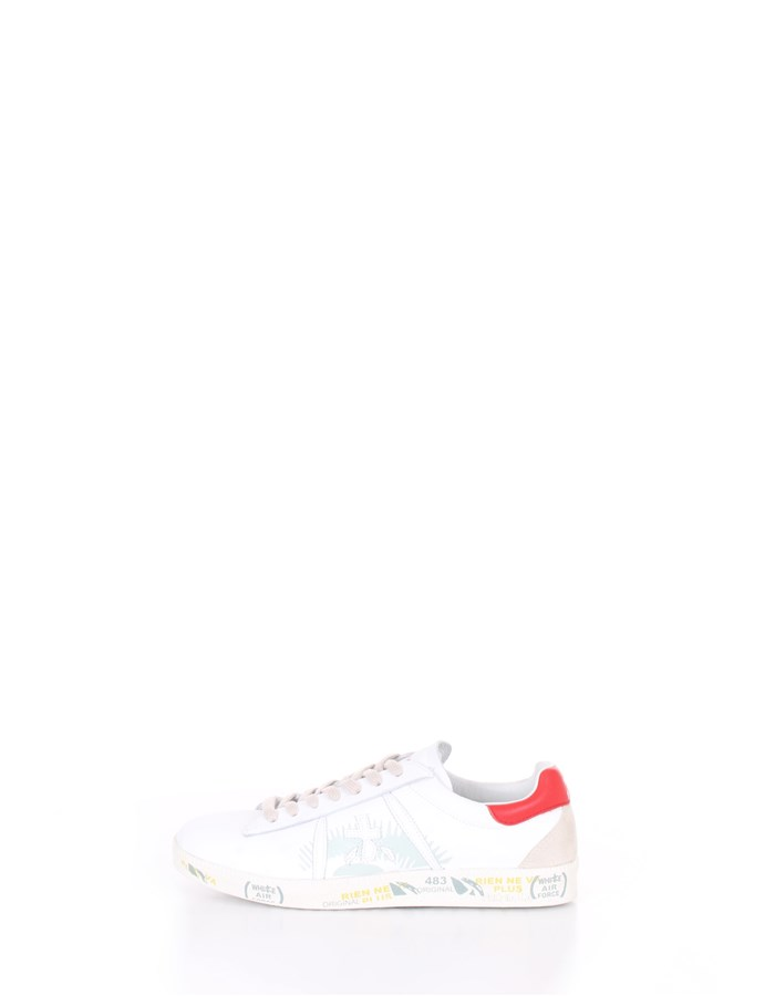 PREMIATA  low White Red