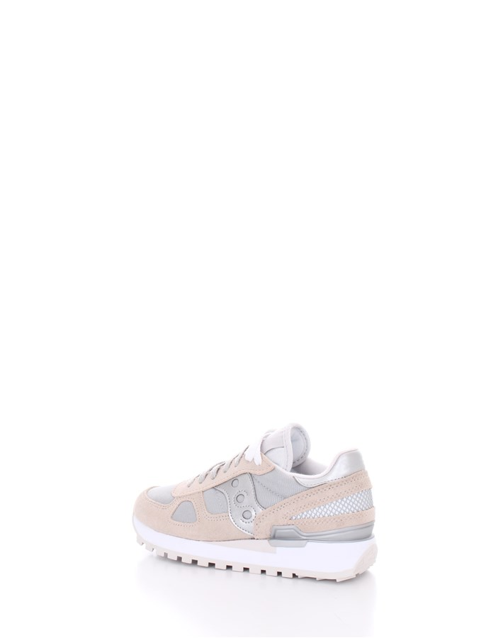 SAUCONY  low White gray