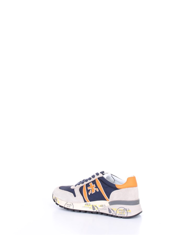PREMIATA  low Blue beige orange