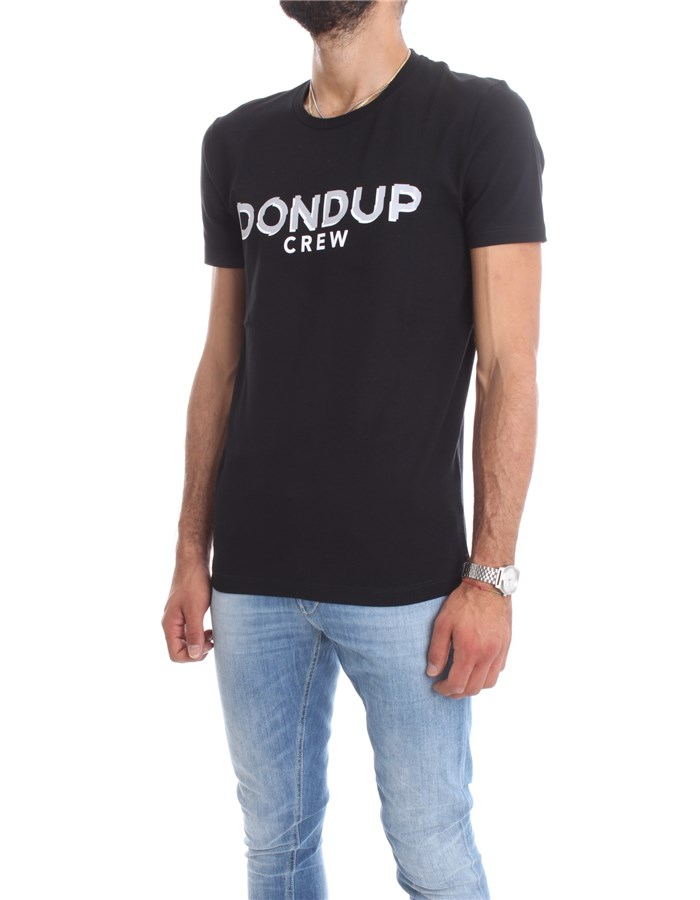 DONDUP Short sleeve Black