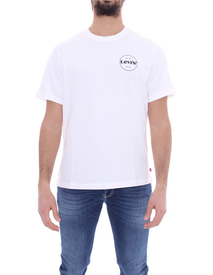 LEVI'S T-shirt Short sleeve 16143 White core