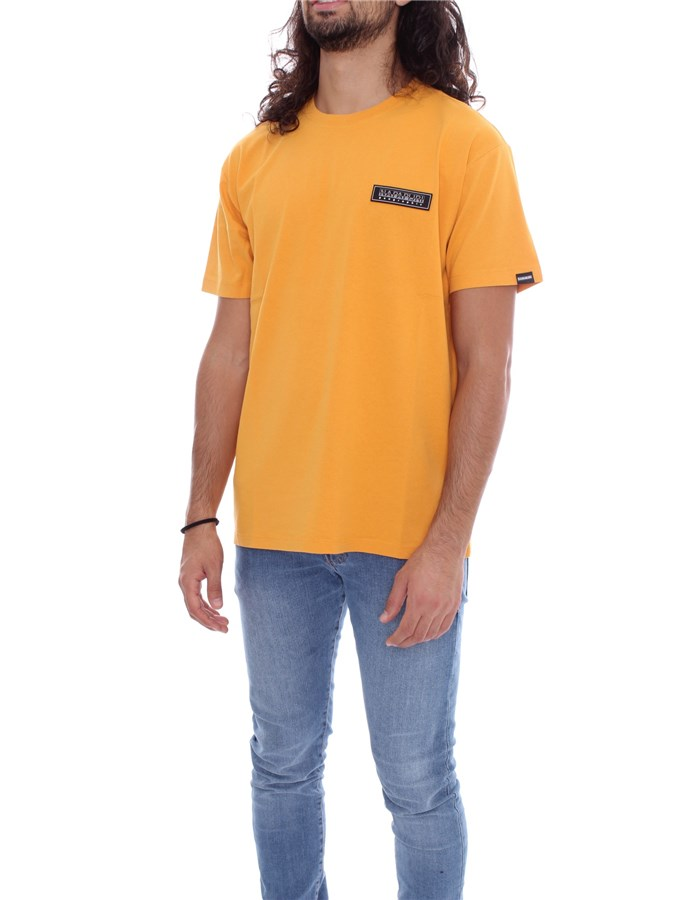 NAPAPIJRI Short sleeve Yellow