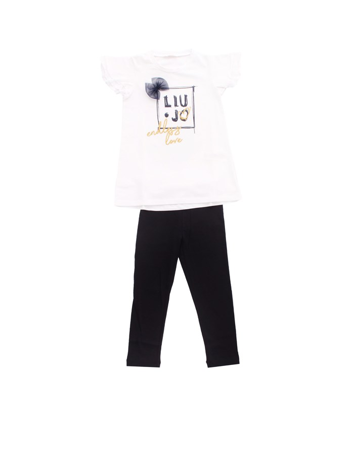 LIU JO T-shirt + Jeans Blue white