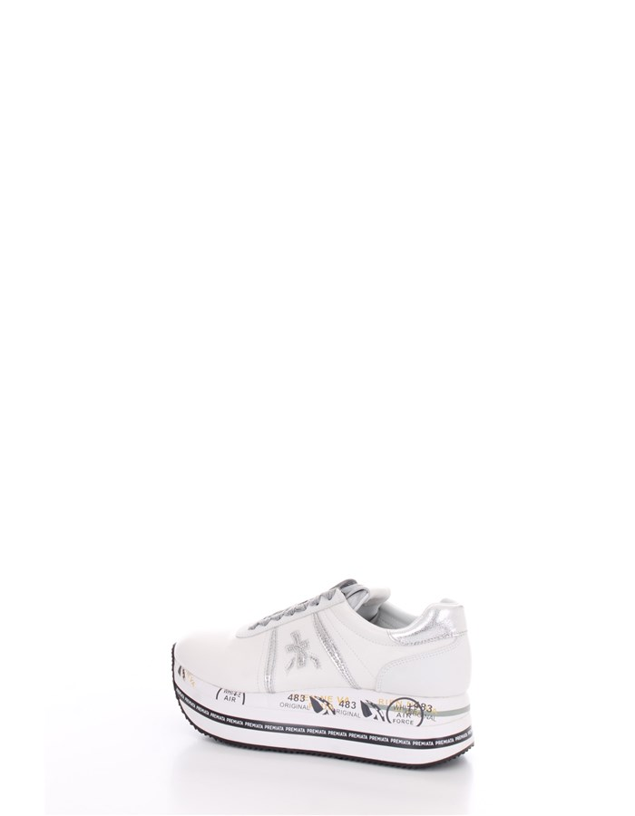 PREMIATA With wedge Silver white