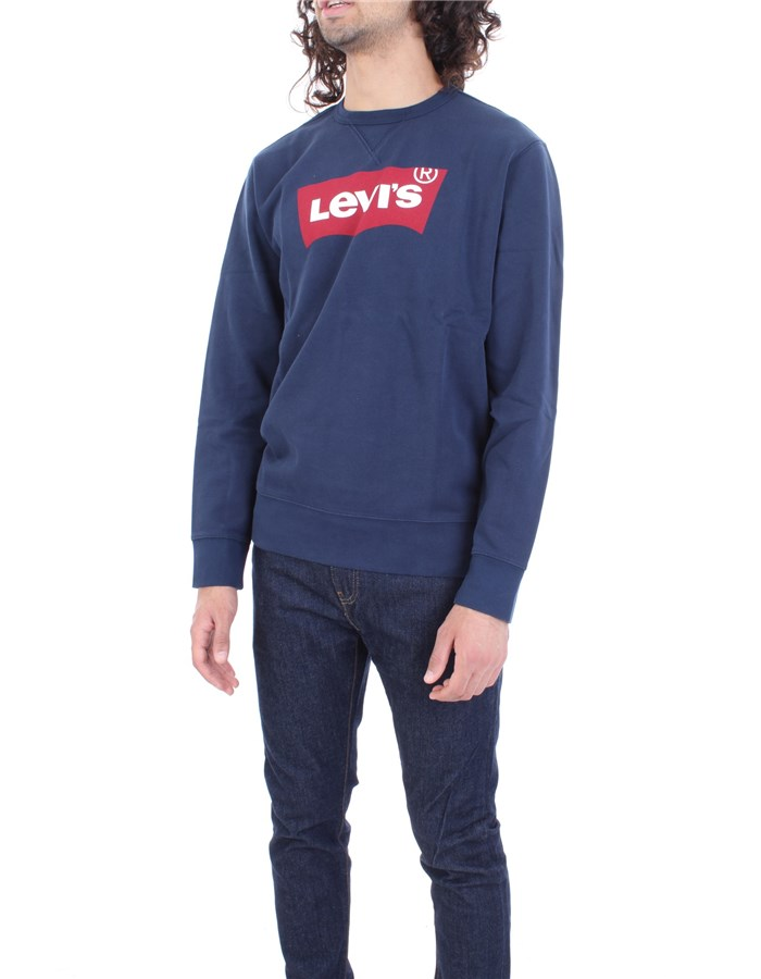 LEVI'S Sweatshirt Blue