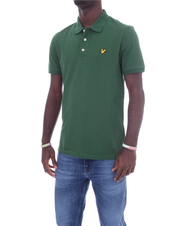 LYLE & SCOTT Vintage Short sleeves English green
