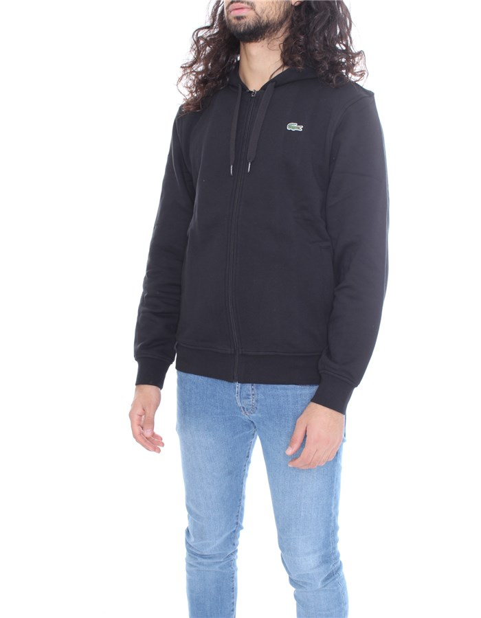 LACOSTE Sweatshirt Black