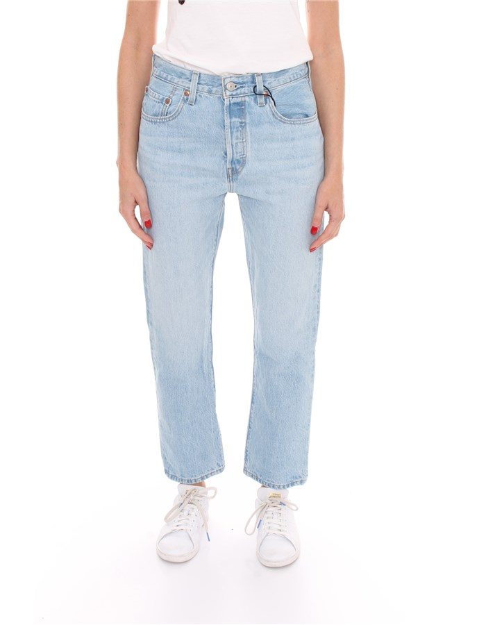LEVI'S Cropped Light blue