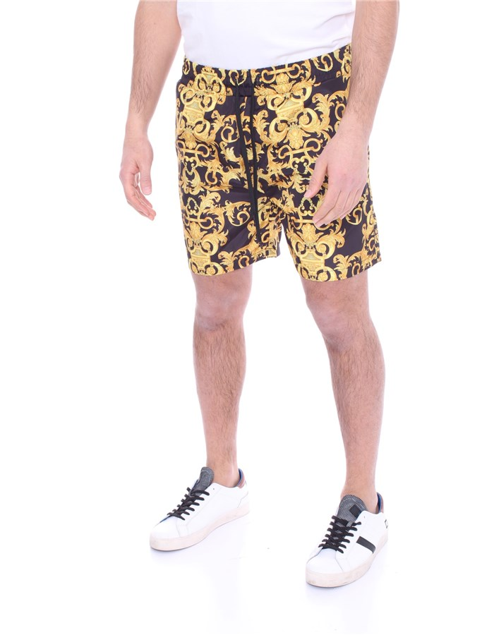 VERSACE Sea shorts Black