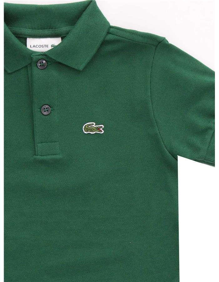 LACOSTE Short sleeves English green