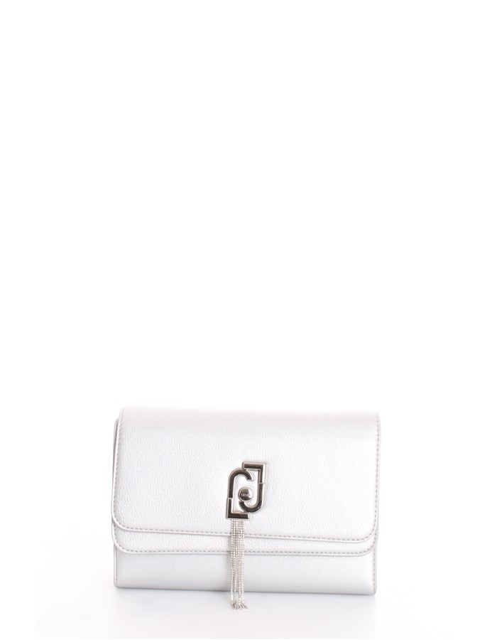 LIU JO Evening Clutch Bag Silver