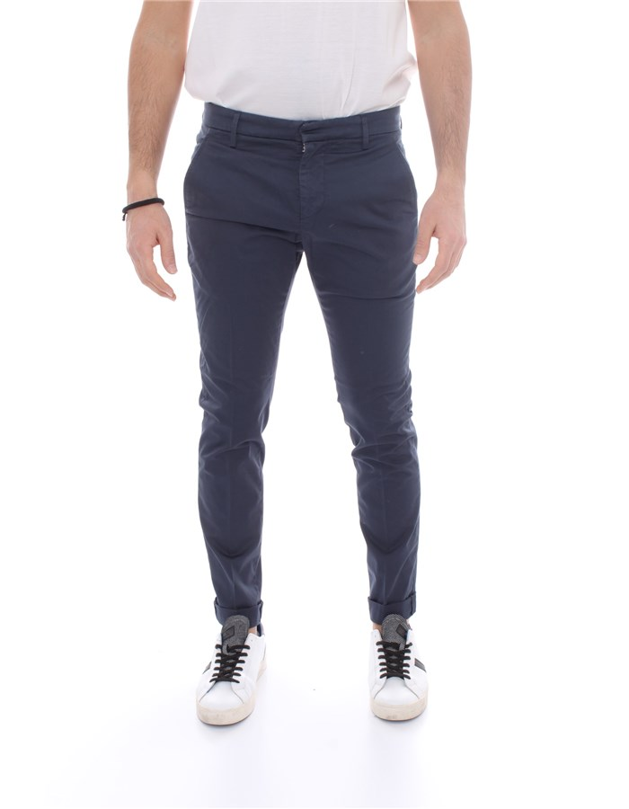 DONDUP Trousers Chino UP235 RSE036 Blue